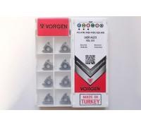 Твердосплавная пластина резьбовая 16ER AG55 VDL155 для наружной резьбы VORGEN