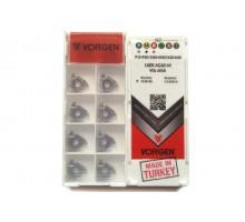 Твердосплавная пластина резьбовая 16ER AG60-M VDL6018 для наружной резьбы VORGEN