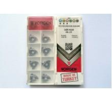 Твердосплавная пластина резьбовая 16ER AG60 VDL155 для наружной резьбы VORGEN