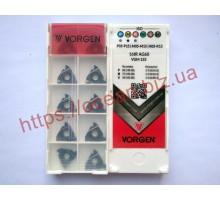 Твердосплавная пластина резьбовая 16IR AG60 VGM155 для внутренней резьбы VORGEN