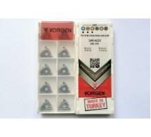 Твердосплавная пластина резьбовая 16IR AG55 VDL155 для внутренней резьбы VORGEN