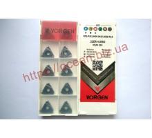 Твердосплавная пластина резьбовая 22ER 4.0ISO VGM155 для наружной резьбы VORGEN