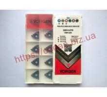 Твердосплавная пластина резьбовая 22ER 4.0TR VGM155 для наружной резьбы VORGEN