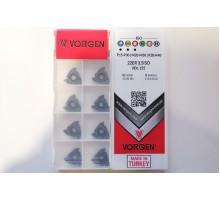 Твердосплавная пластина резьбовая 22ER 3.5ISO VDL155 для наружной резьбы VORGEN