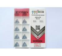 Твердосплавная пластина резьбовая 22ER 6.0TR VDL155 для наружной резьбы VORGEN