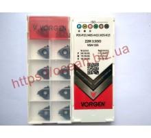 Твердосплавная пластина резьбовая 22IR 3.5ISO VGM155 для внутренней резьбы VORGEN