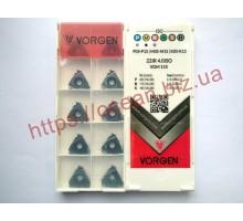Твердосплавная пластина резьбовая 22IR 4.0ISO VGM155 для внутренней резьбы VORGEN