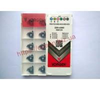 Твердосплавная пластина резьбовая 22IR 6.0ISO VGM155 для внутренней резьбы VORGEN