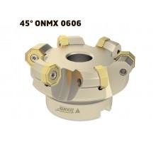 Фреза торцевая насадная T792 D100 d32 Z07 ON--06 под пластину ONMX 0606.. (KORLOY) TEKNIK