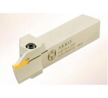 Резец токарный канавочный AAKT-K-R-2525-70-110-3-T17 для торцевых канавок под пластину MGM. 300 (KORLOY) державка AKKO