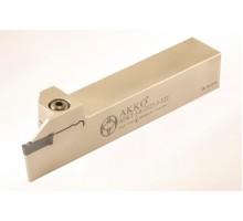 Резец токарный канавочный отрезной ADKT-I-R-1212-2-T15 для наружных канавок под пластину DGN 20.. (ISCAR) державка AKKO