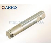 Фреза концевая AEM90-AD1606-D25-W25-L150-Z02 под пластину ADMT 1606.. AKKO