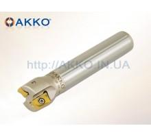 Фреза концевая AEM90-AN1607-D32-C25-L150-Z02 под пластину ANGX 110508 AKKO