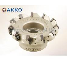 Фреза торцевая насадная AFM45C-SN1206-D080-A27-Z07-H под пластину SNMX 1206.. AKKO