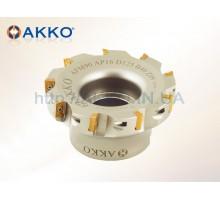 Фреза торцевая насадная AFM90-AP10-D100-A32-Z09-H под пластину APKT 1003.. AKKO