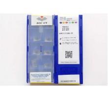 Твердосплавная пластина фрезерная APKT 11T308-PF YBG202 ZCC-CT