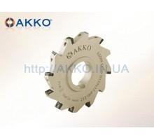Фреза дисковая ASDM-CC06-D80x8-d27-Z10 под пластину CCMT 0602.. AKKO