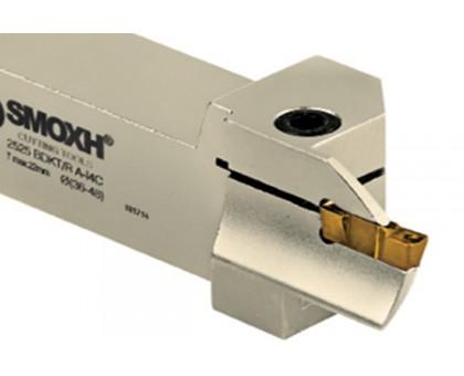 Резец токарный канавочный 2525 BDKT A I4C 24x36 tmax:22 для торцевых канавок под пластину DGN 20.. (ISCAR) державка SMOXH