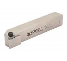 Резец токарный канавочный отрезной BKTR-154.91-2525-3Q под пластину 154.91-3.. (CORUN) державка VORGEN