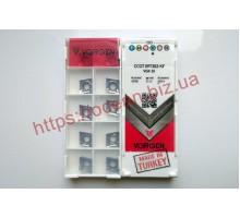 Твердосплавная пластина токарная CCGT 060202-KF VGK10 VORGEN