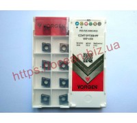 Твердосплавная пластина токарная CCMT 09T308-PF VKP1150 VORGEN