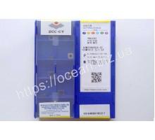 Твердосплавная пластина токарная CCMT 060204-EF YBG202 ZCC-CT