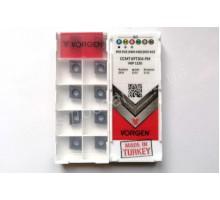 Твердосплавная пластина токарная CCMT 09T304-PM VKP1150 VORGEN