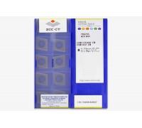 Твердосплавная пластина токарная CCMT 120408-EM YBG205 ZCC-CT