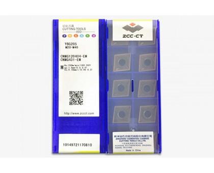 Твердосплавная пластина токарная CNMG 120404-EM YBG205 ZCC-CT