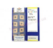Твердосплавная пластина токарная CNMG 120404-PM YBC251 ZCC-CT