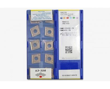 Твердосплавная пластина токарная CNMG 120408-ZM YB6315 ZCC-CT