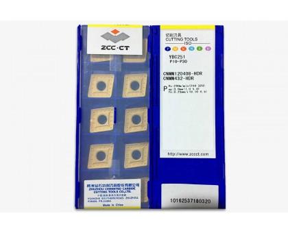 Твердосплавная пластина токарная CNMM 120408-HDR YBC251 ZCC-CT