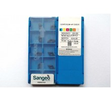 Твердосплавная пластина токарная DCMT 070204-HF CS5225 SANGEO