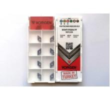 Твердосплавная пластина токарная DCMT 070204-PF VKP1150 VORGEN