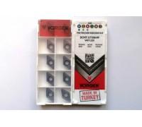 Твердосплавная пластина токарная DCMT 11T308-PF VKP1150 VORGEN