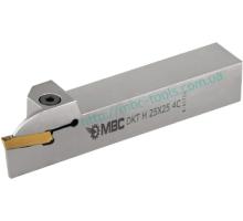 Резец токарный канавочный отрезной DKT-H 32x32 5C для наружных канавок под пластину S229.05.. (HORN) державка MBC