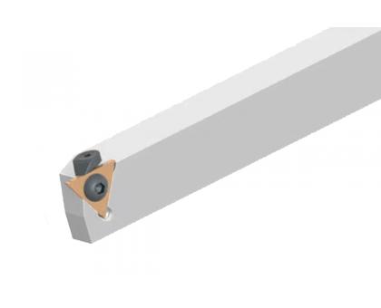 Резец токарный канавочный отрезной DKT-H360 20x20 2C для наружных канавок под пластину S312.2.. (HORN) державка MBC