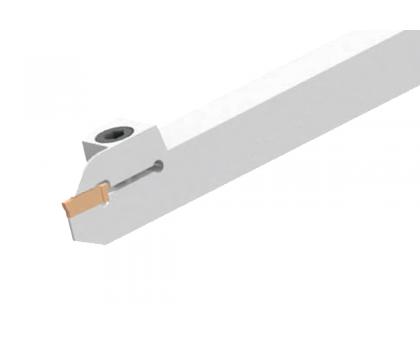 Резец токарный канавочный отрезной DKT-SND 25x25 4C L для наружных канавок под пластину N123H2-04.. (SANDVIK) державка MBC