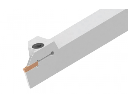 Резец токарный канавочный отрезной DKT-TT 25x25 2C L для наружных канавок под пластину TDC 2. (TAEGUTEC) державка MBC