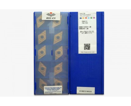 Твердосплавная пластина токарная DNMG 150604-ZM YB6315 ZCC-CT