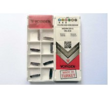 Твердосплавная пластина канавочная/отрезная MGMN 200-G VDL6018 VORGEN