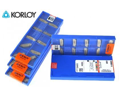 Твердосплавная пластина канавочная/отрезная MGMN 600-M NC3020 KORLOY
