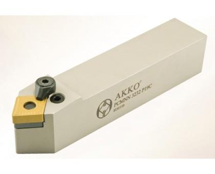 Резец токарный проходной PCMNN 4040 S25C под пластину CNMG 2509.. державка AKKO