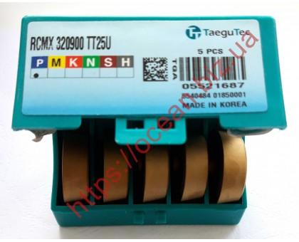 Твердосплавная пластина токарная RCMX 320900 TT25U TaeguTec