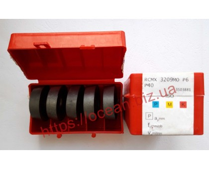 Твердосплавная пластина токарная RCMX 3209MO P6 P40 CORUN