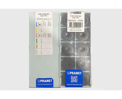 Твердосплавная пластина токарная RCMX 2507MO-RM1 T9315 PRAMET