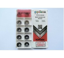 Твердосплавная пластина фрезерная RDMT 1204MO-MQ VDL6018 VORGEN