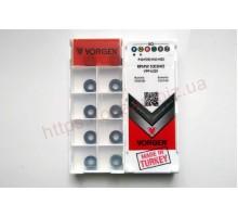 Твердосплавная пластина фрезерная RPMW 1003MO VPP6320 VORGEN