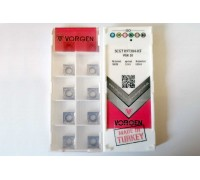 Твердосплавная пластина токарная SCGT 09T304-KF VGK10 VORGEN