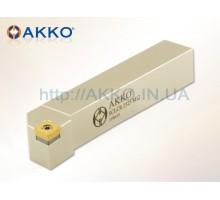 Резец токарный проходной SCLCR 2020 K09 под пластину CCMT 09T3.. державка AKKO